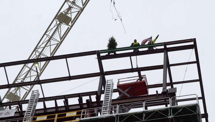 """Topping Out"" Lexington Medical Center's Clinical Expansion"