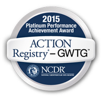 2015 Platinum Performance Achievement Award - ACTION Registry-GWTG